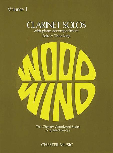 Clarinet Solos - Volume 1