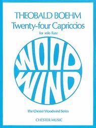 24 Capriccios for Solo Flute