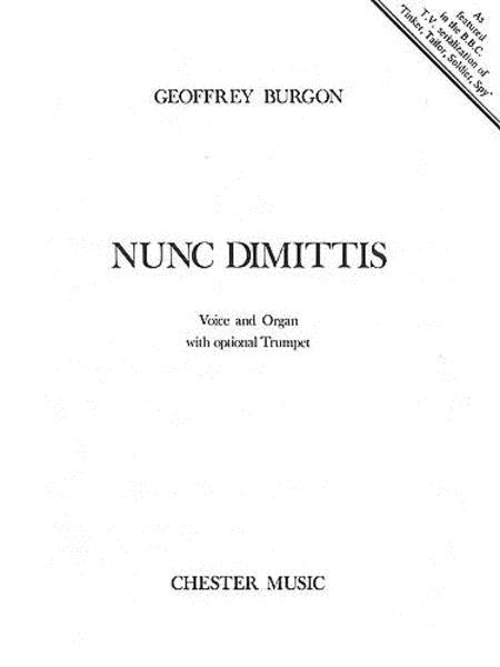 Geoffrey Burgon: Nunc Dimittis