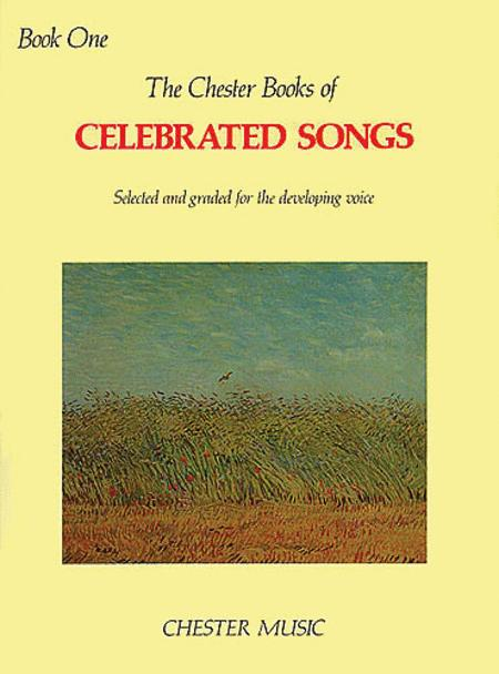 The Chester Book of Celebrated Songs - Book 1