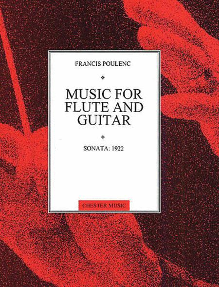 Poulenc: Sonata For Flute And Guitar