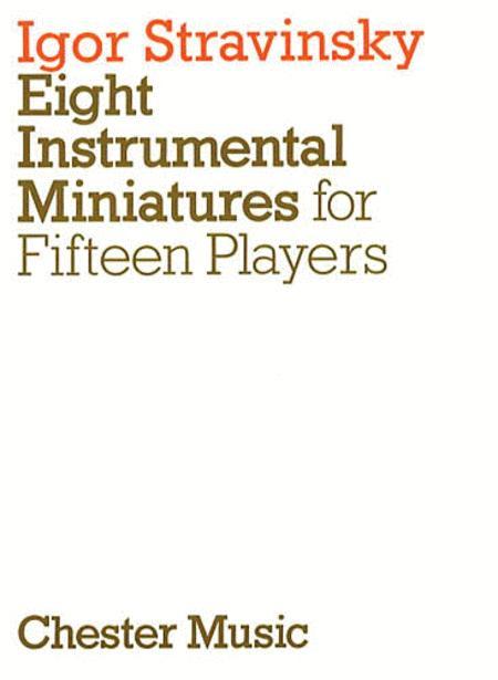 Eight Instrumental Miniatures (Miniature Score)