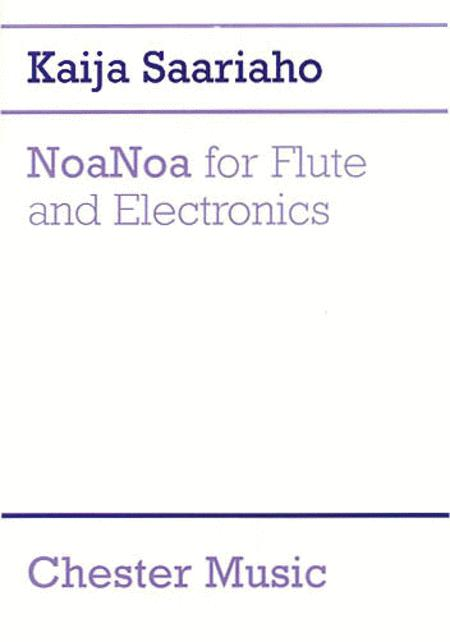 NoaNoa for Flute and Electronics