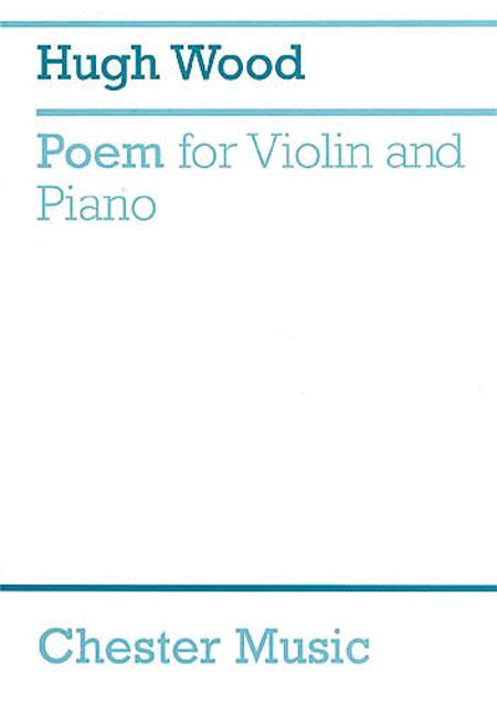 Poem For Violin And Piano