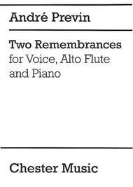 Two Remembrances