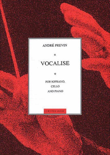 Vocalise for Soprano, Cello and Piano