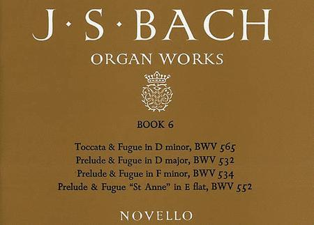 J.S. Bach: Organ Works Book 6