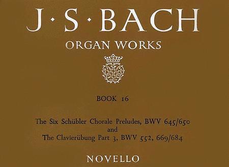 Organ Works Book 16