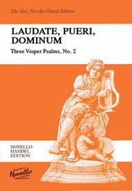 Laudate, Pueri, Dominum