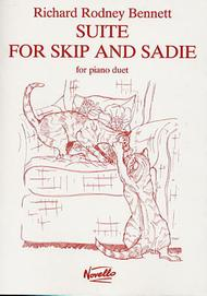 Richard Rodney Bennett: Suite For Skip And Sadie For Piano Duet