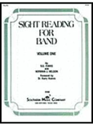 Sight Reading for Band, Book 1