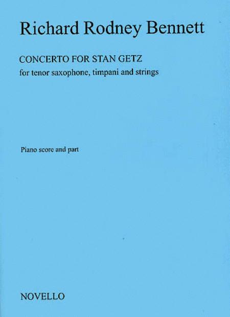 Concerto For Stan Getz (Saxophone/Piano)