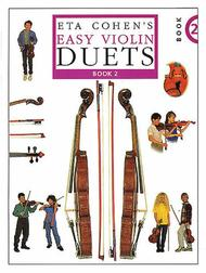 Eta Cohen's Easy Violin Duets - Book 2
