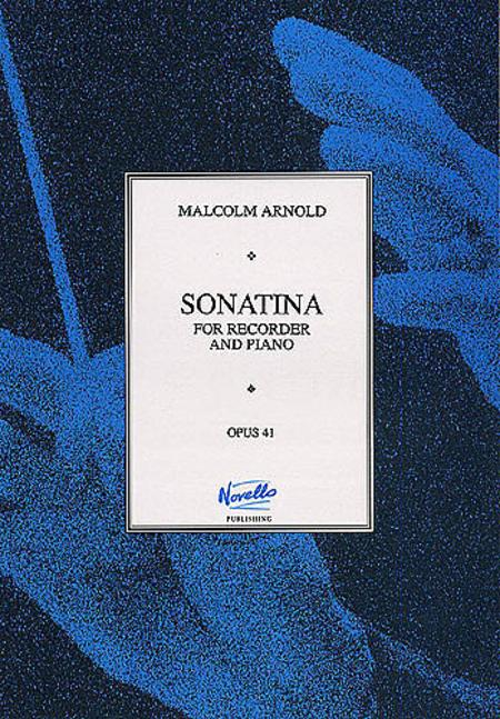 Sonatina For Recorder and Piano Op.41