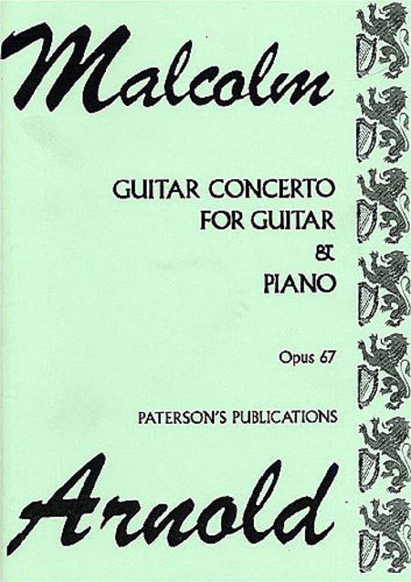 Concerto for Guitar and Chamber Orchestra, Op. 67