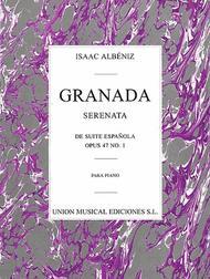 Granada Serenata No.1 (Suite Espanola) Op.47