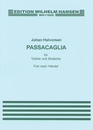 G.F. Handel/Johan Halvorsen: Passacaglia In G Minor For Violin And Viola (Score/Parts)