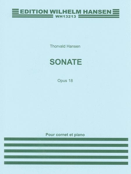 Sonata for Cornet and Piano Op. 18