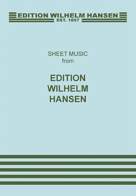 Hans Abrahamsen: String Quartet No.1 'Ten Preludes' (Score)