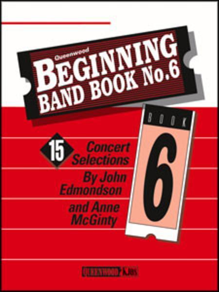 Beginning Band Book No. 6 - Conductor/CD