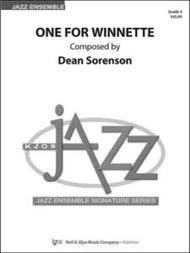 One for Winnette - Score