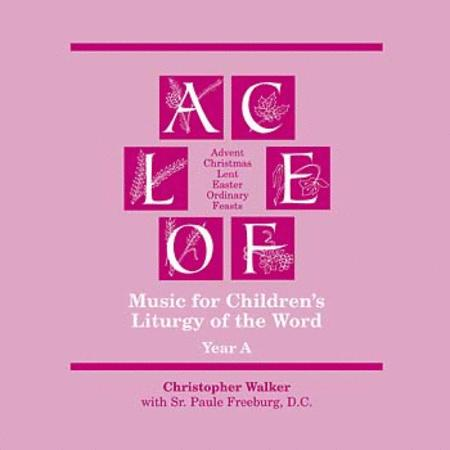 Music for Children's Liturgy of the Word, Year A (2-CD Set)