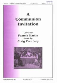 A communion invitation sheet music by craig courtney sheet music plus a communion invitation stopboris Images