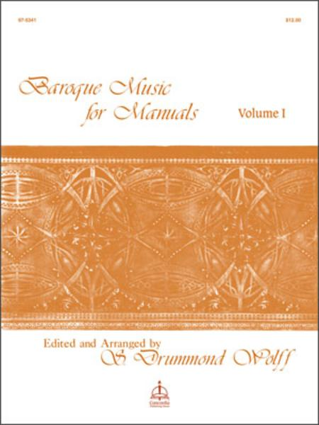 Baroque Music For Manuals, Volume I