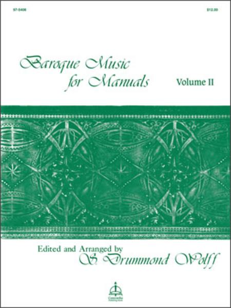 Baroque Music For Manuals, Volume II