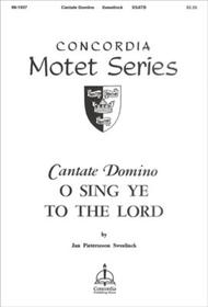 Cantate Domino (O Sing to God the Lord)