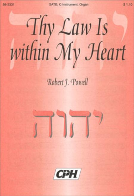 Thy Law Is Within My Heart