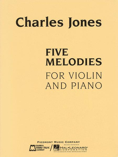 Five Melodies for Violin and Piano