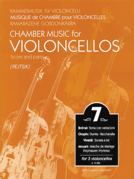 Chamber Music for 3 Violoncellos - Volume 7