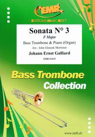Sonata No. 3 in F major