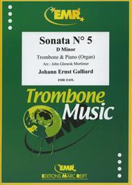 Sonata Ndeg 5 in D minor