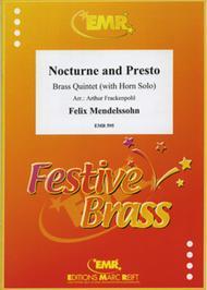 Nocturne and Presto