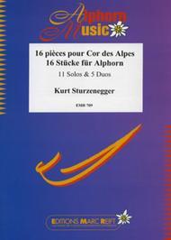 16 Stucke fur Alphorn (Solos/Duets)