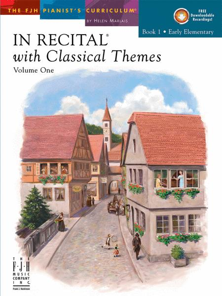 In Recital, with Classical Themes - Book 1