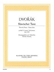 Slavonic Dance in G Minor Op. 46, No. 8