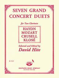 Seven (7) Grand Concert Duets