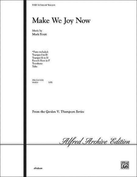 Make We Joy Now