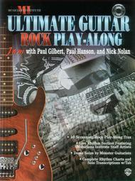 Ultimate Play-Along Guitar Trax Rock 					 					 By With Paul Gilbert, Paul Hanson, and Nick Nolan