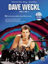 Ultimate Play-Along Drum Trax Dave Weckl, Level 1, Volume 2