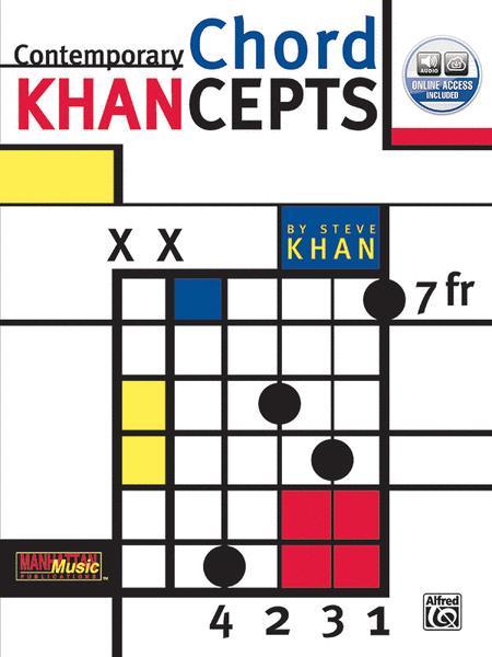 Contemporary Chord Khancepts Sheet Music By Steve Khan Sheet Music