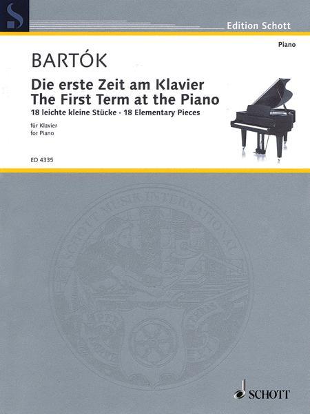 Die erste Zeit am Klavier Sz 53
