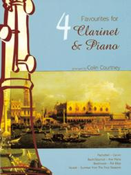 Four Favourites for Clarinet and Piano