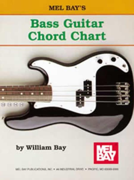 Bass Guitar Chord Chart Sheet Music By William Bay - Sheet Music Plus