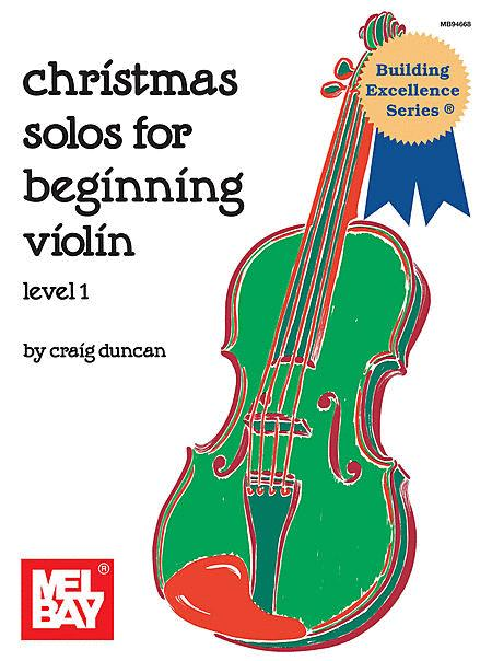 Christmas Solos for Beginning Violin