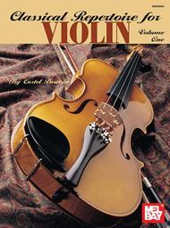 Classical Repertoire for Violin Volume One