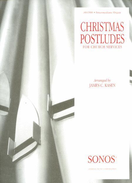 Christmas Postludes - Organ